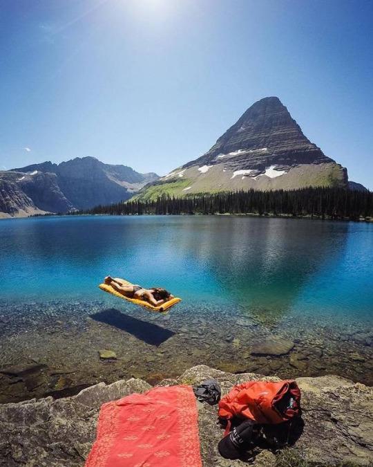 Hidden Lake, Montana, #EUA